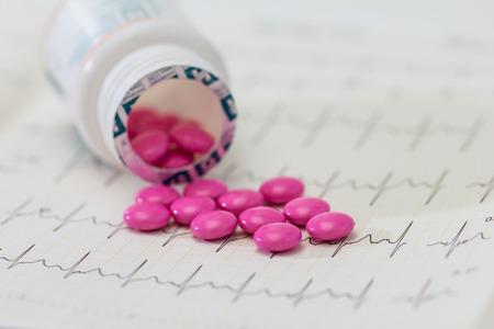 spilled: Spilled Pill Bottle. Pills Medicine