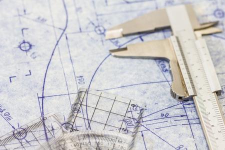ingenieria industrial: detallado anteproyecto de ingenier�a mec�nica con indicador