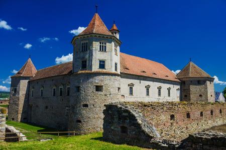 fagaras: Fagaras fortress and castle - Fagaras, Romania, Transylvania Editorial