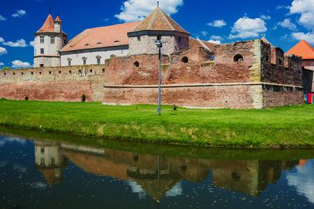 Fagaras fortress and castle - Fagaras, Romania, Transylvania Editorial