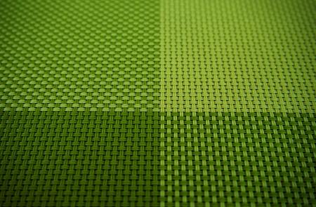 Green weave pattern