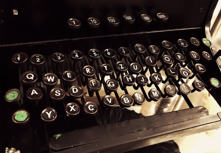 olden: Old type writer