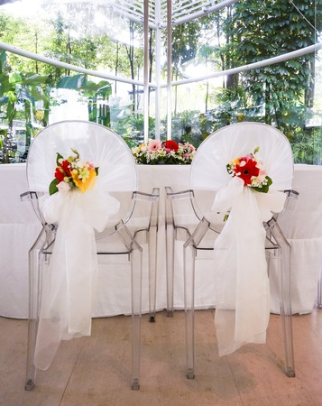 Wedding chair and table