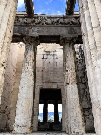 Temple of Hephaestus Greece