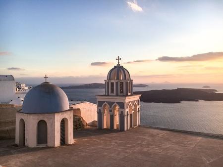 Church at Santorini Greece