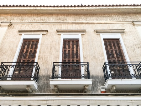 House with unique balcony design