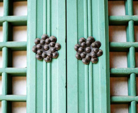 Korean Traditional Window at Duhk Soo Goong