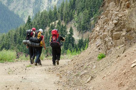 english ethnicity: Hikers