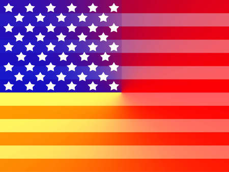 Primary American flag