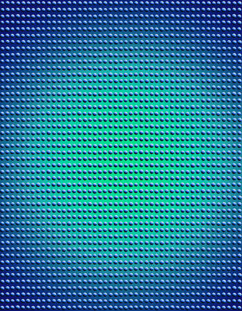 bumpy: Blue beads arranged tightly in rows and columns to create a bumpy texture.