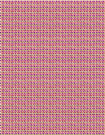 Tweed like texture created with pinks and violets themed for spring