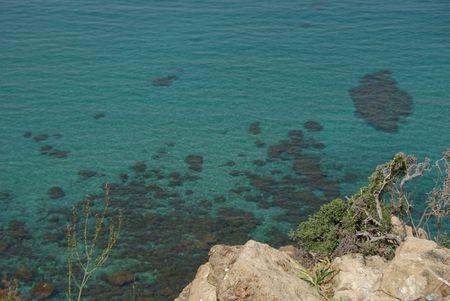 blue lagoon cyprus Stock Photo