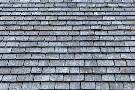 Grey slate roof tiles texture background image Reklamní fotografie