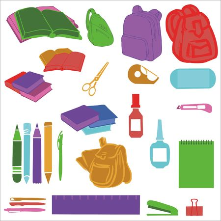 Back To School Vector Digital Clipart Vector