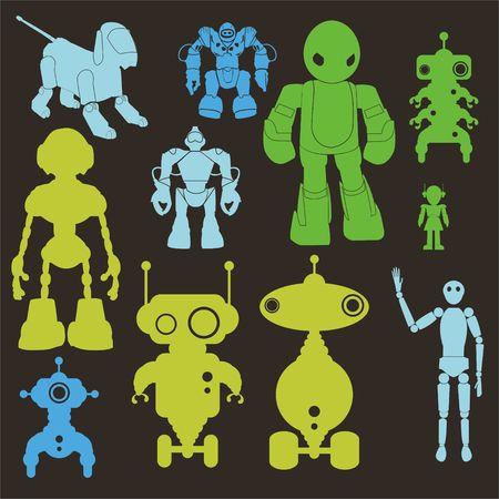Robots Clip art Vector