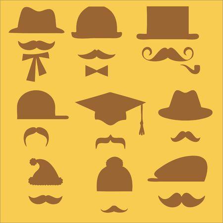 Mustaches Clip art