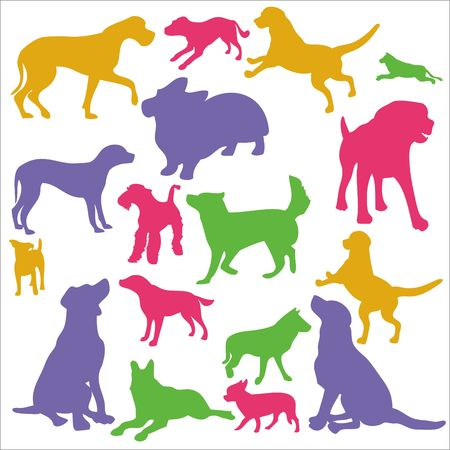Dogs Clip art Vector