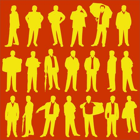 People Vector Digital Clipart 2 Vector