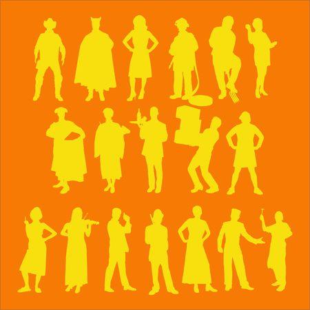 jazzy: People Vector Digital Clipart 3