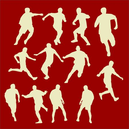Soccer Vector Digital Clipart Vector