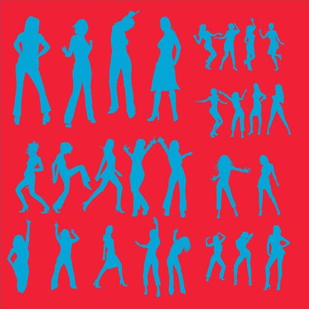 Dance Vector Digital Clipart 4 Vector