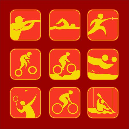 Sport Icon Vector Digital Clipart Vector