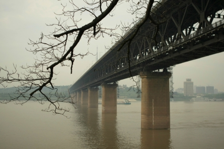 wuhan: Yangtze River and bridge, Wuhan,China