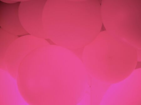 modern abstract trend pink background made of neon balls