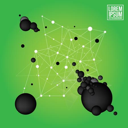 Nets von Punkten Standard-Bild - 37228643