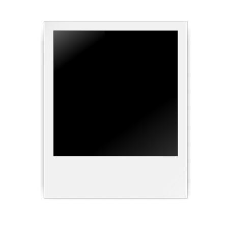 Vintage photo frame vector illustratie Stock Illustratie