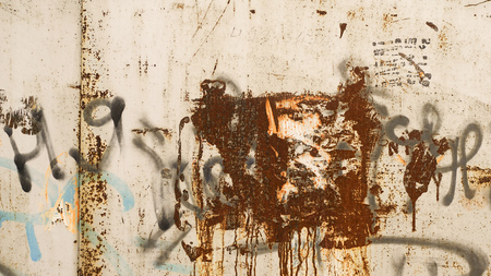 rust: metallic rust texture horizontal photo Stock Photo