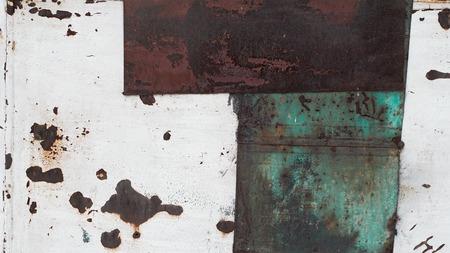rust texture: metallic rust texture horizontal photo Stock Photo