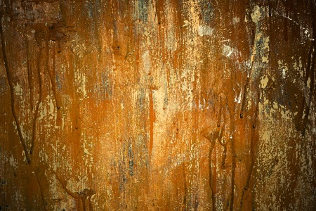 scarry: Rusty grunge metal texture with filters and effects photo set.