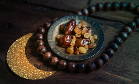 tight focus: Ramadan traditional islam background photo with tight focus.