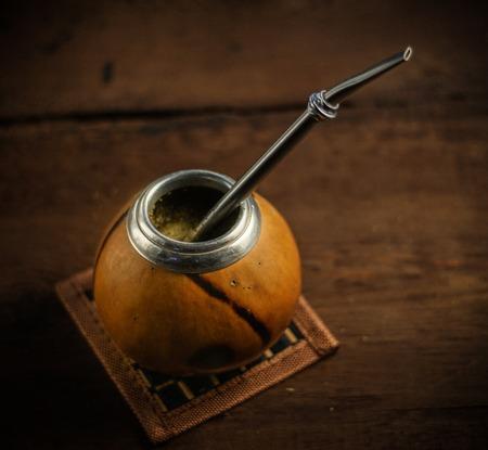 mate: Yerba drink tea mate photo.