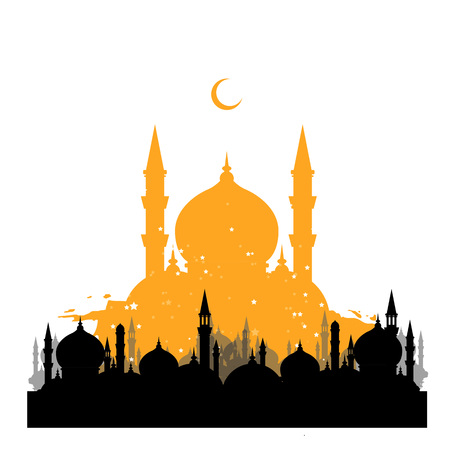 Islam vector illustration picture. Without text