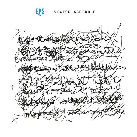 penman: Unidentified abstract handwriting scribble vector