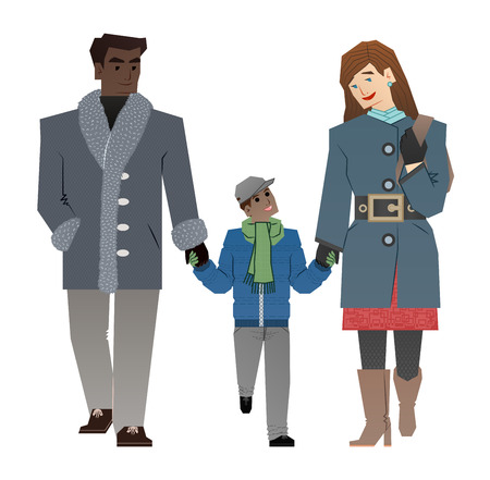 love couples: traditional family
