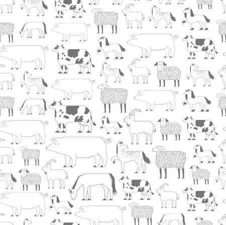 livestock: livestock pattern