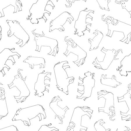 contour: contour forest dwellers pattern