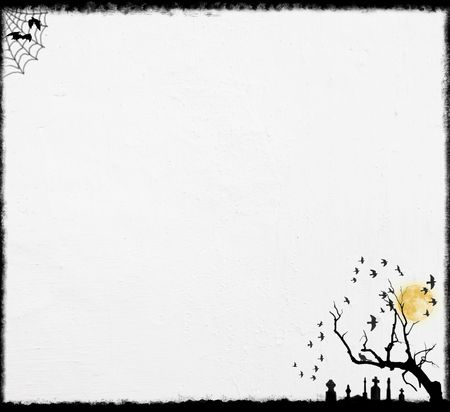 White Halloween Background. Halloween Backgrounds Collection - see more in my portfolio.