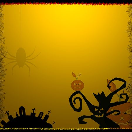 Halloween Style Background. Halloween Background Series. Stock Photo - 3642946