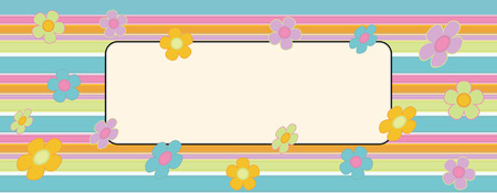 Abstract Retro Style Vector Background Vector