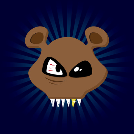kodiak: Feliz Bear. Feliz de recogida de animales.