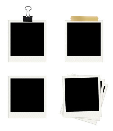 Photo Frames Collection. Easy To Edit Vector Image.