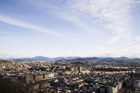 View On The Saint Sebastian City From Fortress Stock Photo - 4286508