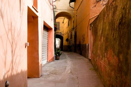Vivid Colour Houses. Old Italy Series. Stock Photo - 4764380