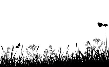 Vector Abstract Nature Background. Summer Season. Illustration