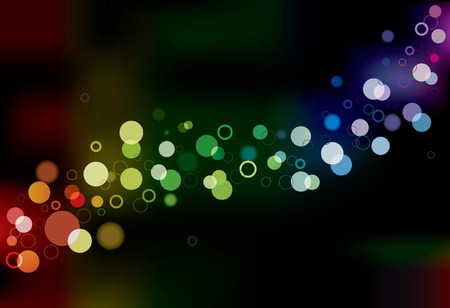 Abstract Vector Lights. Background Collection. Vector