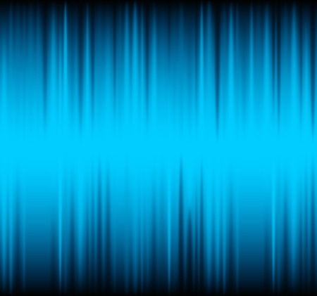 Abstract Vector Blue Striped Background Vector